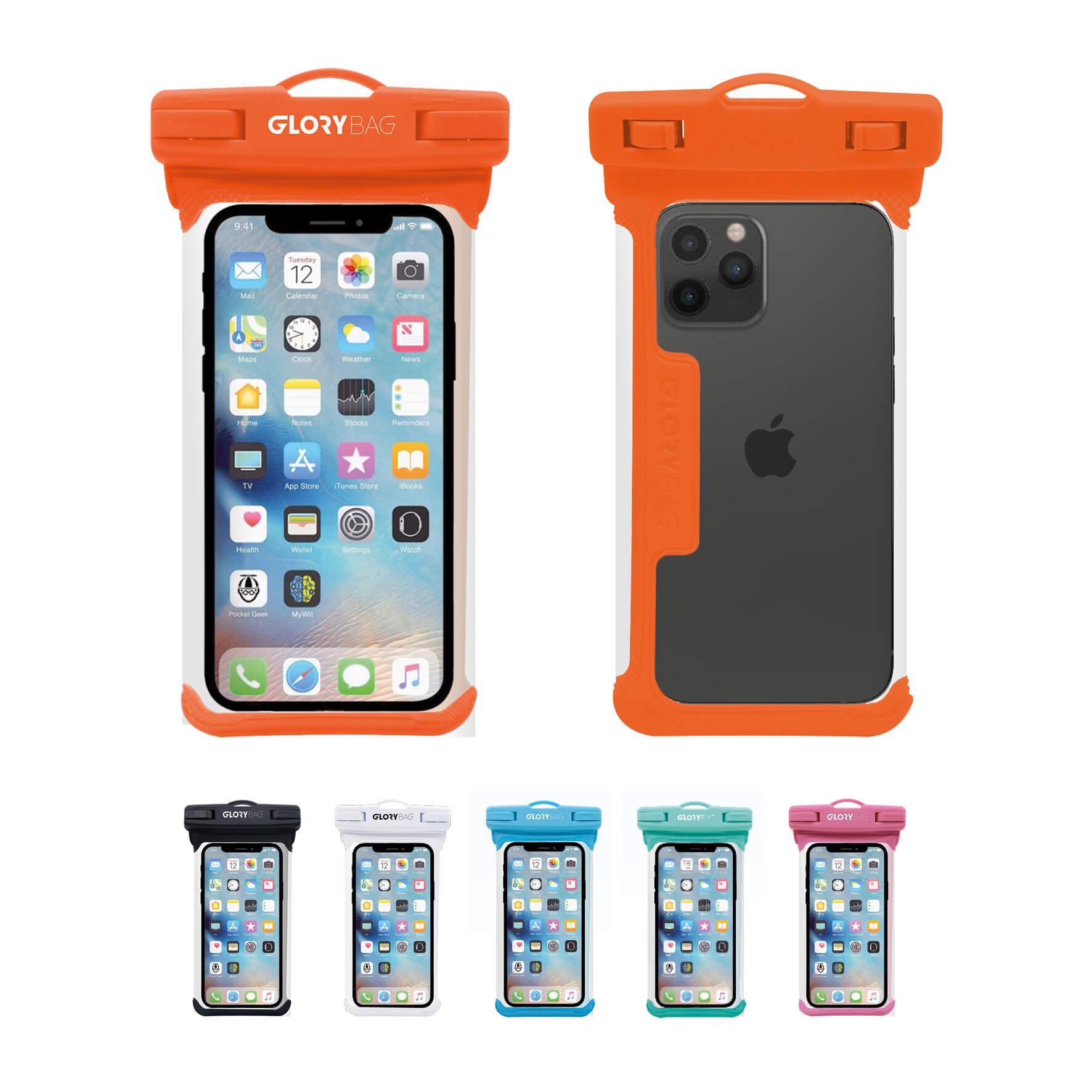 Wasserdichte Handyhülle Orange