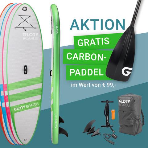 Active 11'0'' Allround SUP Set mit Carbon Paddel