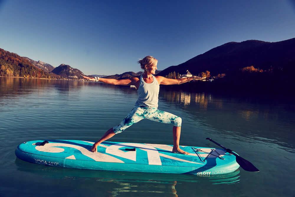 SUP Yoga: Welches SUP Board eignet sich dafür?