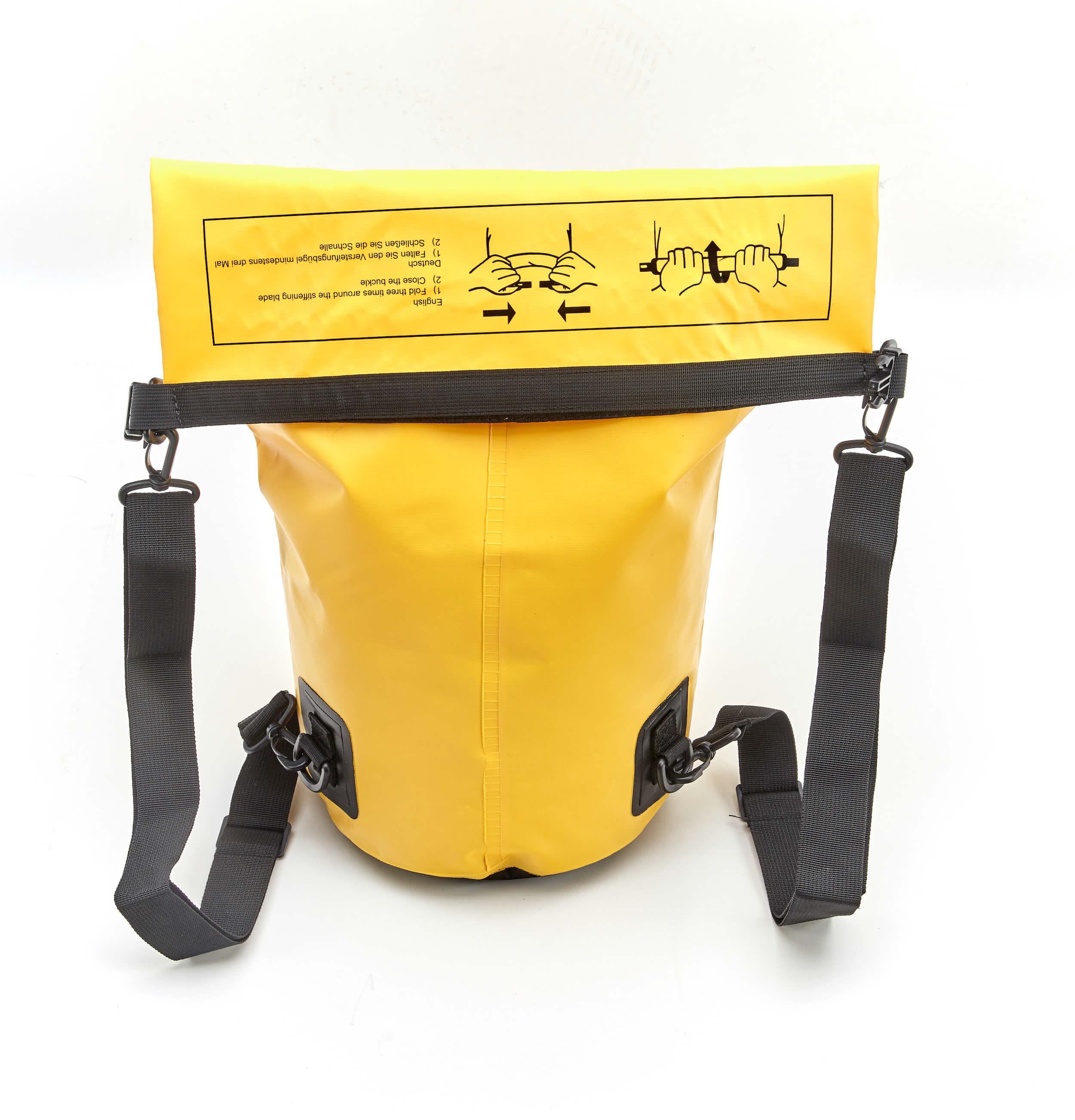 Drybag 25L Gelb